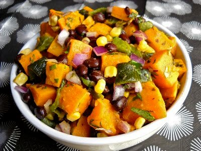 Roasted Sweet Potato Poblano Salad | North Carolina Sweet ...