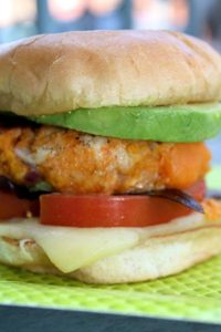 Sweet Potato Turkey Burgers