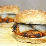 Maple Sweet Potato Pecan Burgers