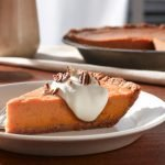 Fluffy Sweet Potato Bourbon Pie