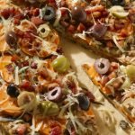 Grilled Sweet Potato Pizza with Pancetta & Gruyere