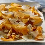 Sweet Potato Saute with Grana Padano & Toasted Almonds