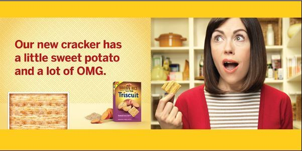 Triscuits Adds Sweet Potatoes To New Brown Rice Lineup