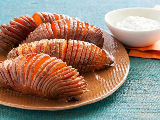 ... Recipe: Hasselback Sweet Potatoes | North Carolina Sweet Potatoes