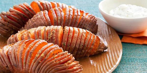 Featured Recipe: Hasselback Sweet Potatoes