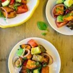 Sweet Potato Panzanella Salad