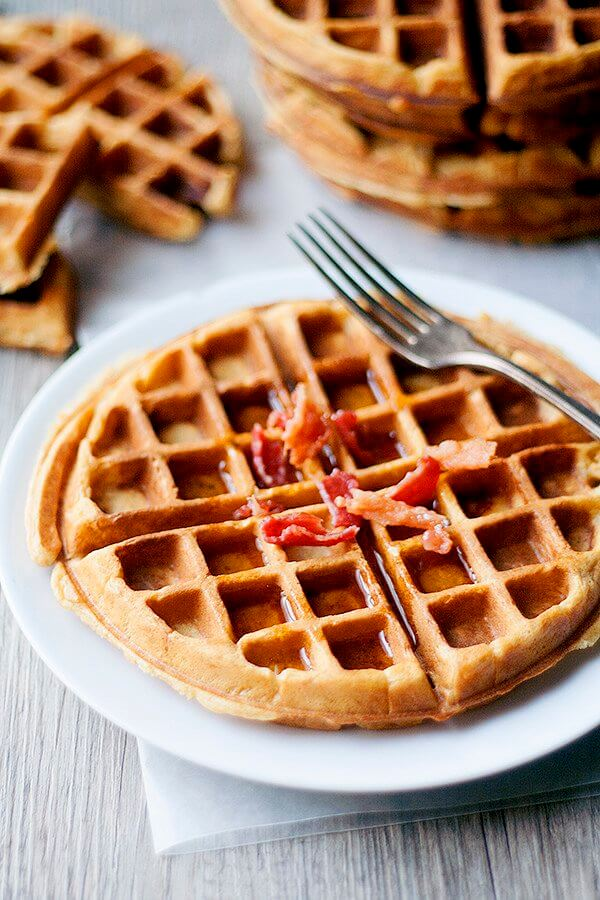 ... at 600 × 900 in Sweet Tater Shout Out: Sweet Potato and Bacon Waffles
