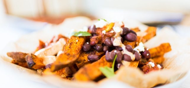 Sweet Tater Shout Out: Mexican Loaded Sweet Potato Fries