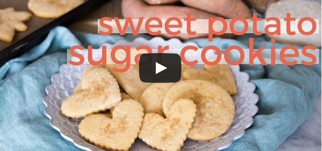 Sweet Tater Shout Out: Sweet Potato Sugar Cookies