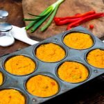 Curried Sweet Potato Egg Muffin Cups
