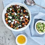 Sweet Potato & Black Bean Salad with a Toasted Cumin Citronette