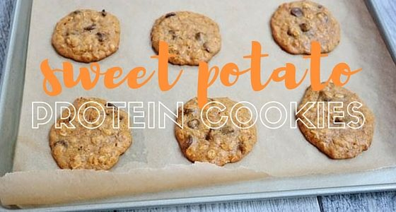 Sweet Tater Shout Out: Sweet Potato Dark Chocolate Chip Protein Cookies