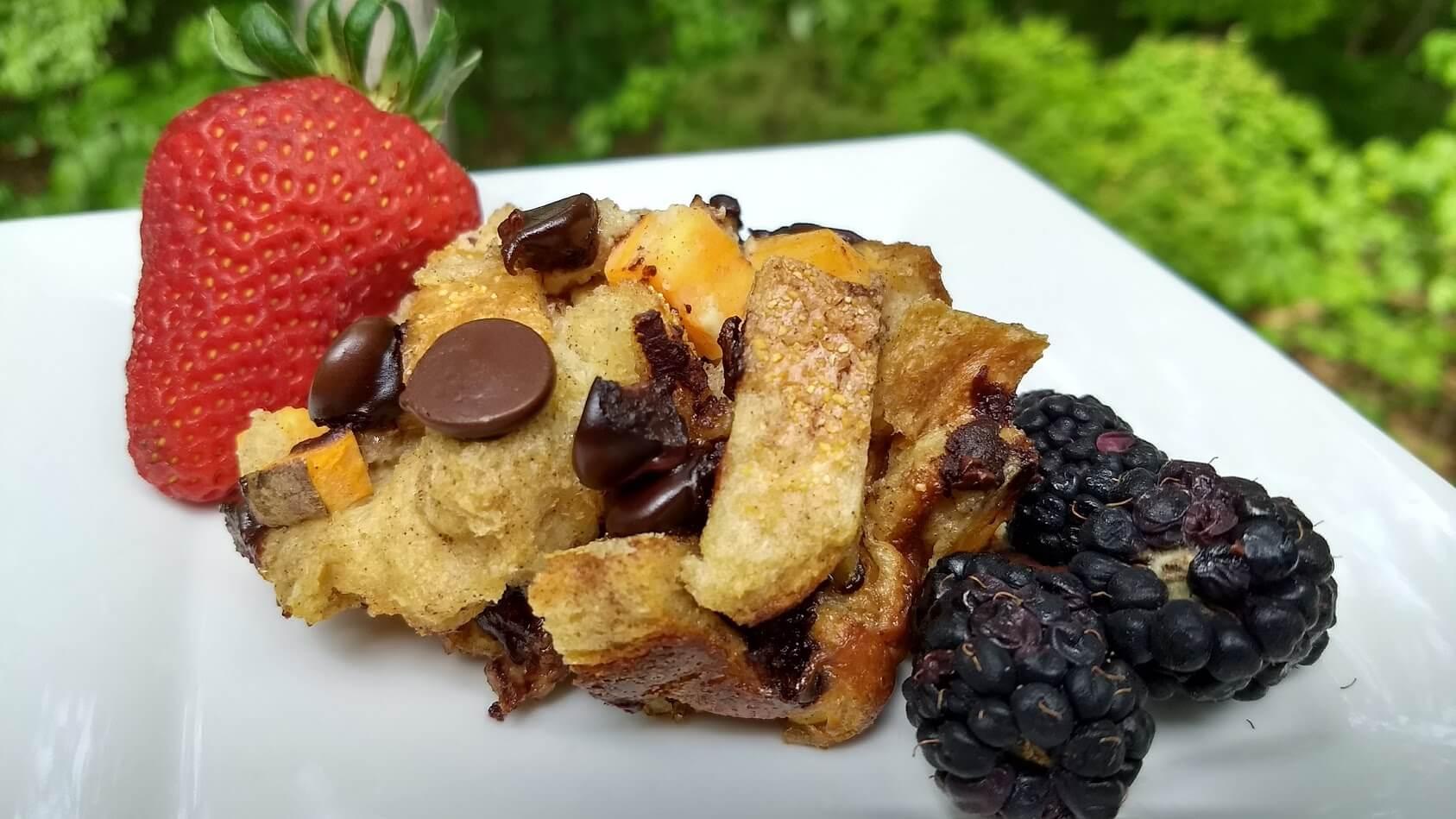 Sweet Potato Bread Pudding | North Carolina Sweet Potatoes